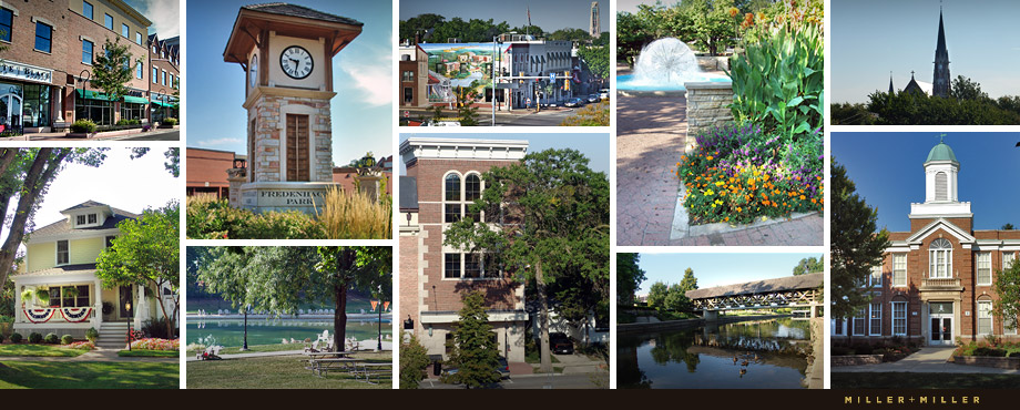 photographs of the City Naperville Illinois