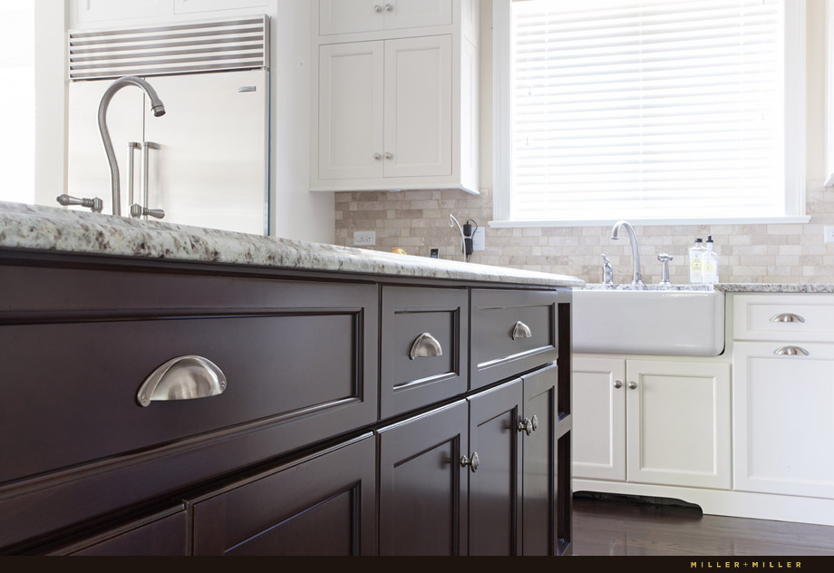 Clarendon Hills home transitional kitchen farmhouse sink realtor