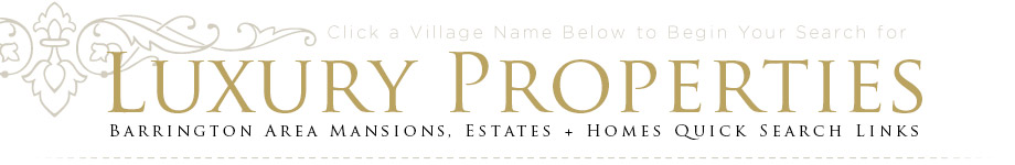 luxury properties Barrington area mansions estates homes search