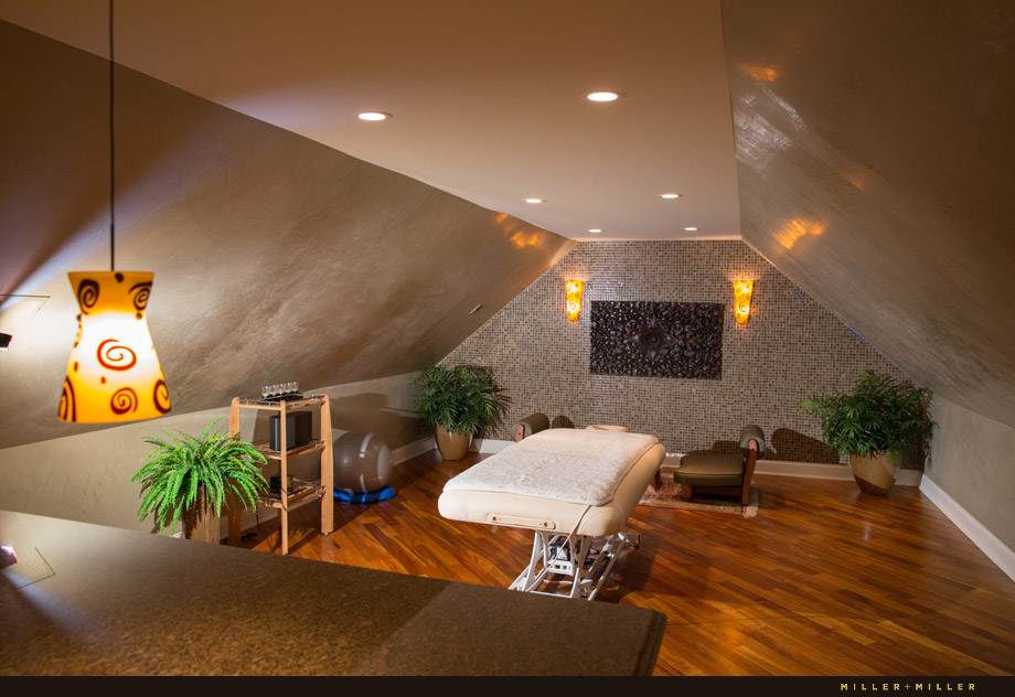 in house massage room spa sauna