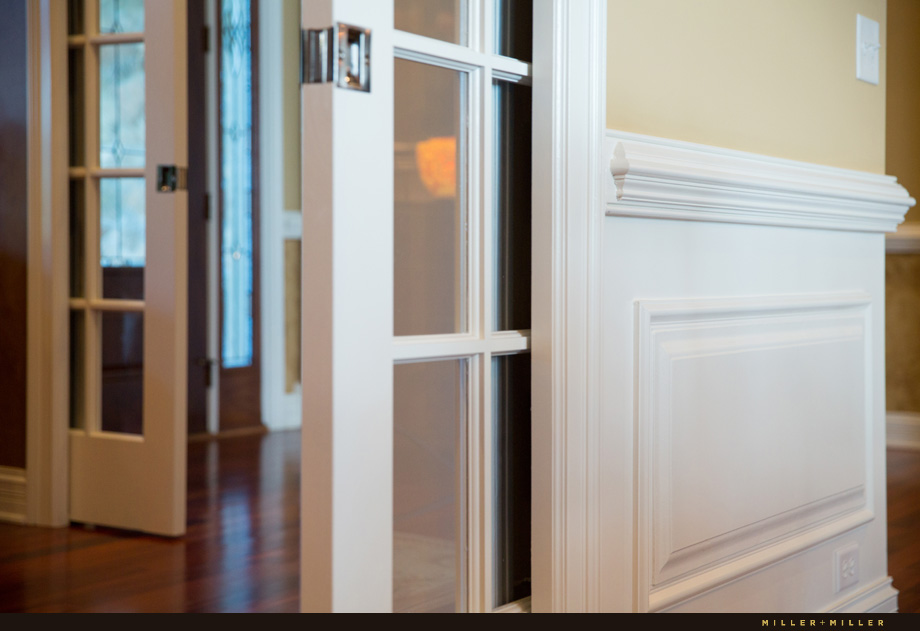 pocket-doors-trim-wainscoting